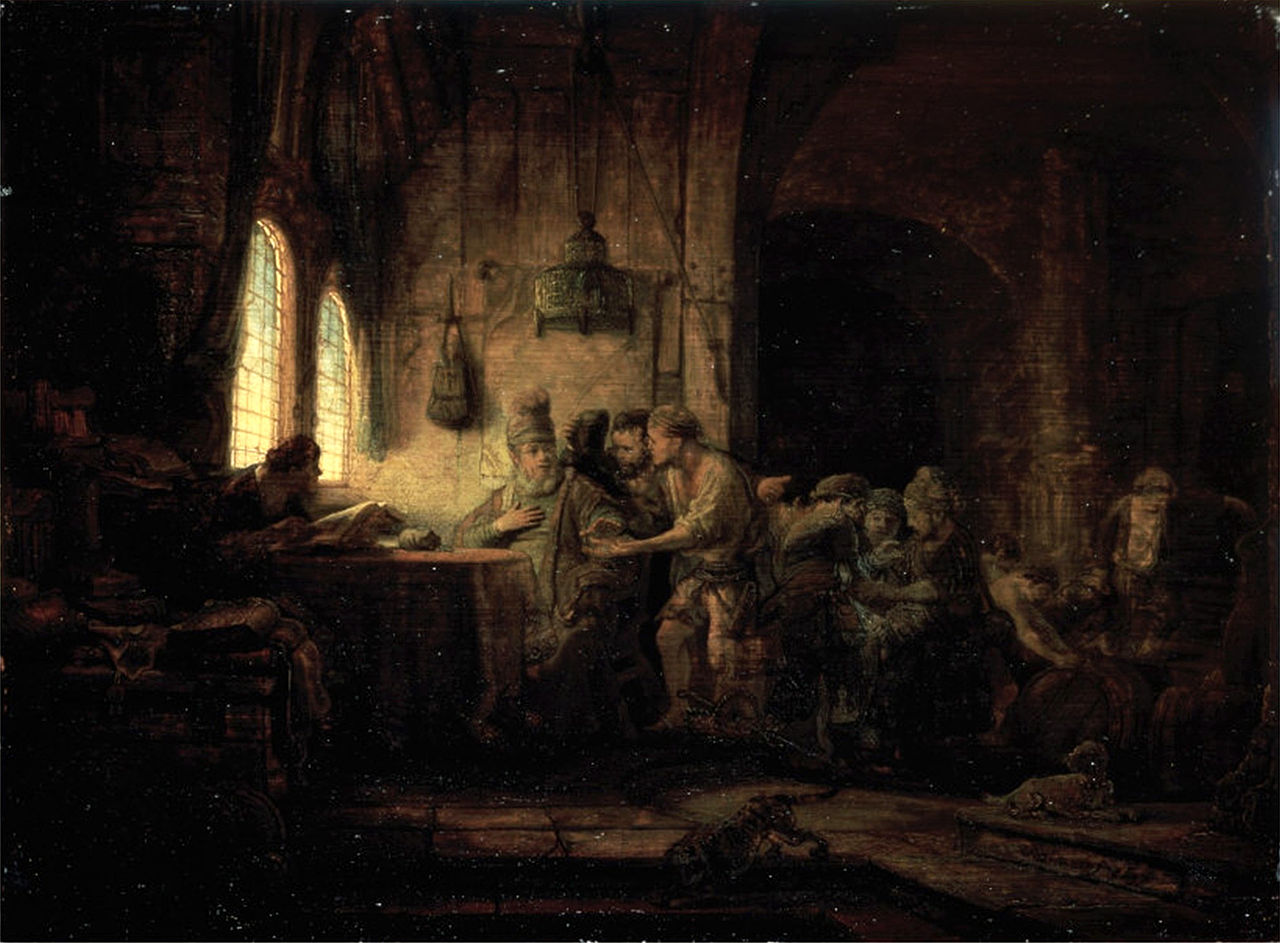 1280px Rembrandt Parable of the Laborers in the Vineyard